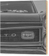 Pontiac Gto Wood Print