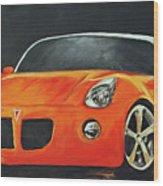 Pontiac Solstice Wood Print