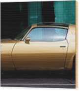 Pontiac Trans Am Wood Print