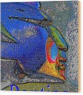 Pontiac War Leader Wood Print