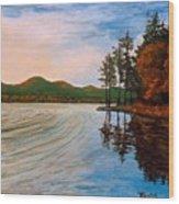 Pontoosuc Lake Pittsfield Ma Wood Print