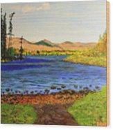 Pontoosuc Lake Pittsfield Massachusetts Wood Print