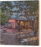 Pontotoc Vineyard Weingarten_1 Wood Print