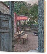 Pontotoc Vineyard Weingarten_7 Wood Print
