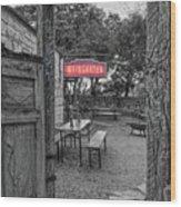 Pontotoc Vineyard Weingarten_8 Wood Print