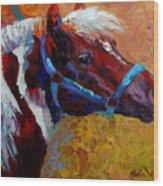 Pony Boy Wood Print