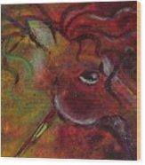 Pony Games Wood Print