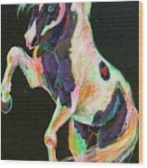 Pony Power II Wood Print