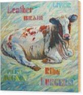 Poor Miss Bessie Wood Print