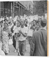 Poor Peoples March, 1968 Wood Print