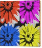 Pop Art Petals Wood Print