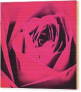 Pop Art Rose Wood Print