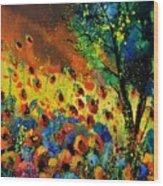 Poppies 456150 Wood Print
