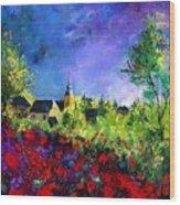Poppies In Villers Wood Print