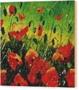 Poppies Poppies  Wood Print