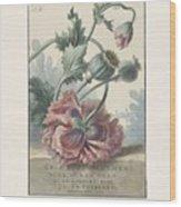 Poppies, Willem Van Leen, 1804 Wood Print