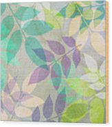 Poppy Shimmer IIi  Wood Print