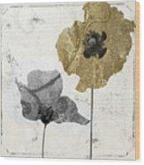 Poppyville II Wood Print