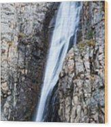 Porcupine Falls Wood Print