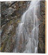 Porcupine Falls Side Chute Wood Print