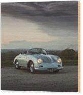 Porsche 356 Speedster Wood Print