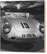 Porsche 550a Rs Wood Print