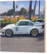 Porsche 911 Gt2 Wood Print