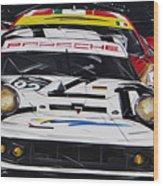 Porsche 911 Rsr Le Mans Wood Print