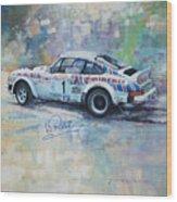 Porsche 911 Sc  Rallye Sanremo 1981 Wood Print