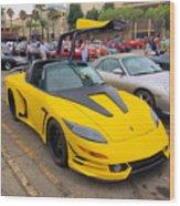 Porsche 911 Targa Gullwing Wood Print