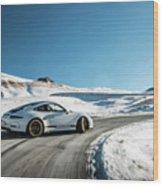 Porsche 911r Powerslide Wood Print