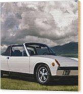 Porsche 914 Wood Print
