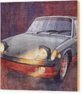 1970 Porsche 914 Wood Print