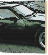 Porsche 944 On A Hot Afternoon Wood Print