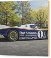 Porsche 962c Wood Print