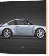 Porsche 993 Wood Print