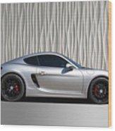 Porsche Beautiful Dream Sports Car Wood Print