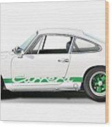 Porsche Carrera Rs Illustration Wood Print
