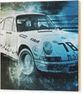 Porsche Carrera Rsr, 1973 - 23 Wood Print