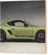 Porsche Cayman R Wood Print
