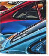 Porsche Fins Wood Print