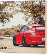 Porsche Gt3 Centerlock Adv1 3  Wood Print