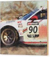 Porsche Gt3 Martini Racing - 01 Wood Print