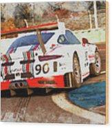 Porsche Gt3 Martini Racing - 02 Wood Print