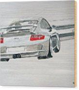 Porsche Gt3 Wood Print