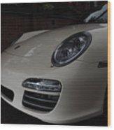Porsche On Canyon Road Wood Print
