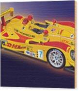 porsche RS Spyder Wood Print