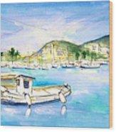 Port Andratx 01 Wood Print
