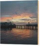 Port Angeles Sunrise Wood Print