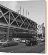 Port Authority Bus Terminal New York City Usa Wood Print